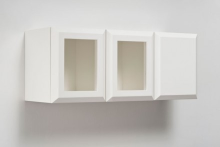 Elad Lassry, Untitled (SW White Cabinet) (2013), via 303 Gallery