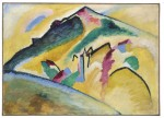 Herbstlandschaft (1911) by Wassily Kandinsky, via Bloomberg