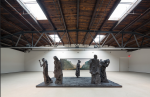 Matthew Day Jackson at Hauser and Wirth, via Wall Street Journal