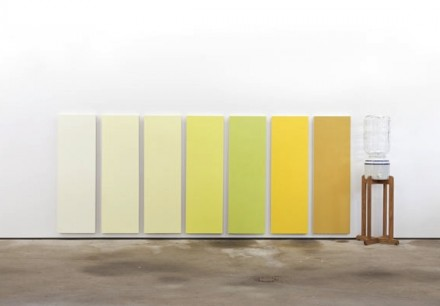 Nick Darmstaedter, Mountain Valley Urine Color Chart (2013), via Fireplace Project