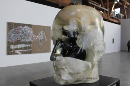 Richard Dupont, Head Head (2012) via Ben Richards for Art Observed