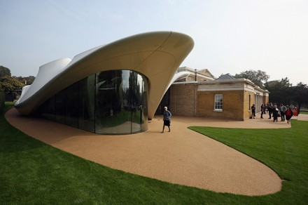 The Serpentine Sackler, via The Guardian