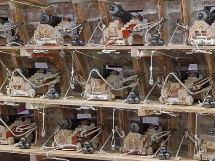 Tom Sachs, Barbie Slave Ship (2013), via Artist's Website