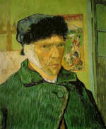 Van Gogh with Bandaged Ear, via Art Newspaper