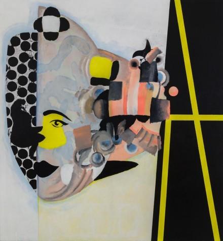 Charline von Heyl, Carlotta (2013), via Petzel Gallery