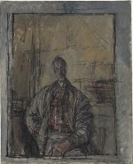 Alberto Giacometti, Diego en chemise écossaise, via Art Daily