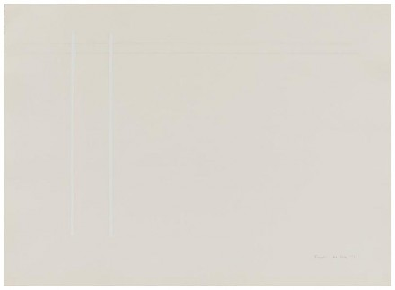 Anne Truitt, 26 July '73 No. 2 (1973), via Matthew Marks