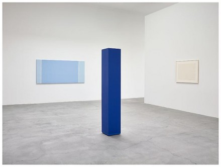 Anne Truitt, Threshold (Installation view), via Matthew Marks