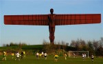 "Antony Gormley's ""Angel of the North"". via The Telegraph"