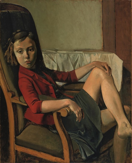 Balthus, Thérése (1938), Courtesy of the Metropolitan Museum of Art