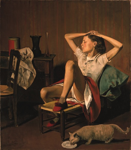 Balthus, Thérèse Dreaming (1938), Courtesy of the Metropolitan Museum of Art