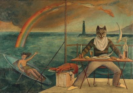 Balthus, Le Chat de la Méditerranée (1949), Courtesy of the Metropolitan Museum of Art