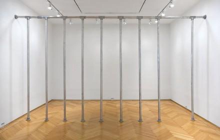Cady Noland, Dead Space (1989), via Skarstedt Gallery
