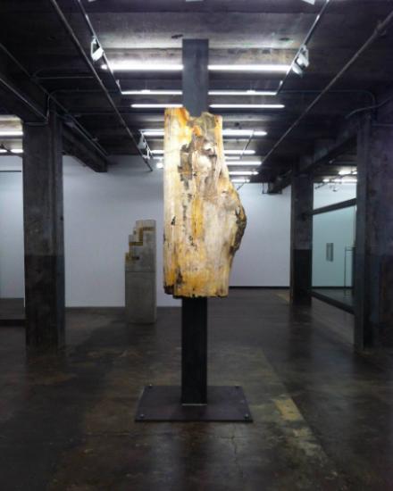 Carol Bove, Untitled (2013), via Daniel Creahan for Art Observed