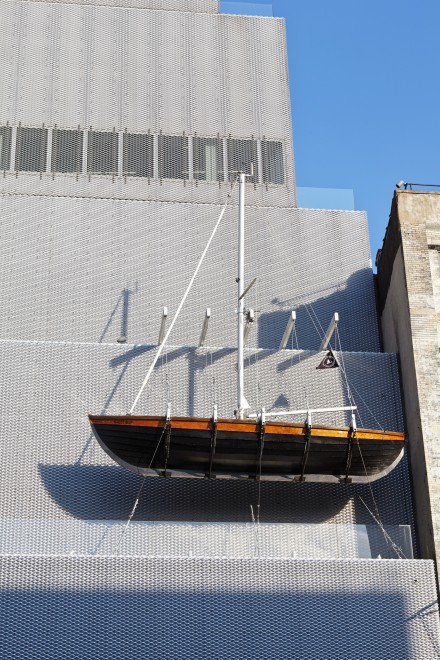 Chris Burden, Ghost Ship (2005), Courtesy the artist and Gagosian Gallery