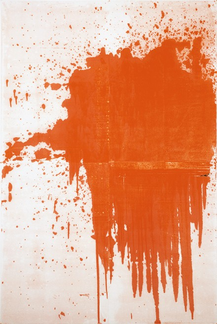 Christopher Wool, Minor Mishap, (2001), © Christopher Wool, Courtesy The Guggenheim Museum