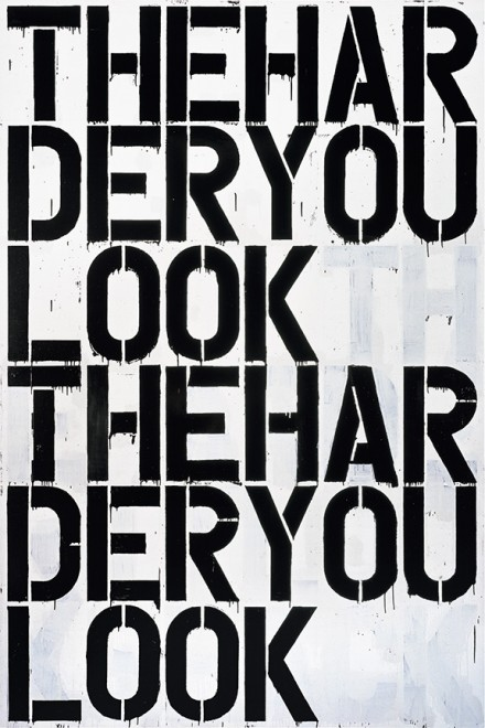 Christopher Wool, Untitled, (2000), © Christopher Wool, Courtesy The Guggenheim Museum