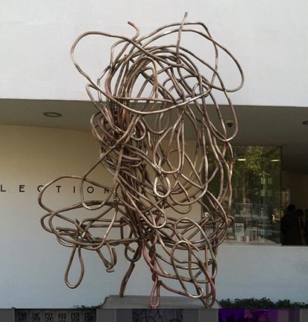 Christopher Wool, Untitled (2013), via Daniel Creahan for Art Observed