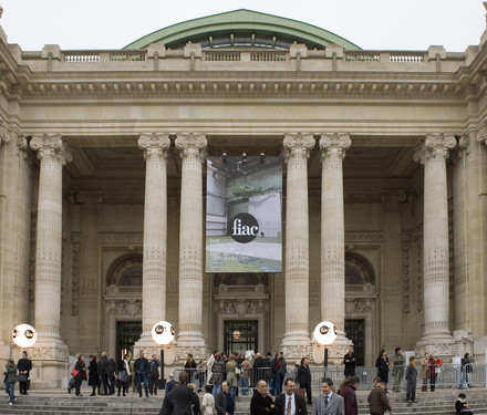 FIAC at the Grand Palais, via Grand Palais