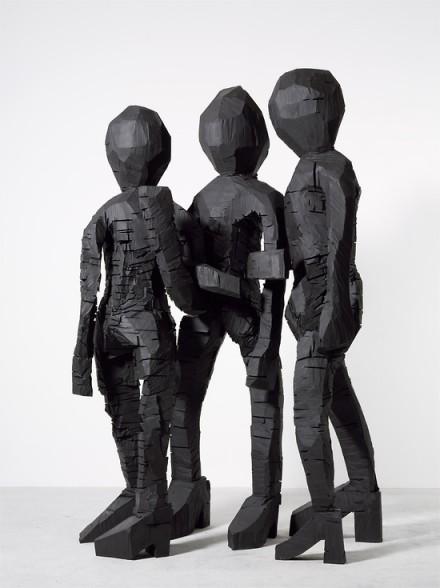 Georg Baselitz, BDM Gruppe (2012), via Thaddeus Ropac