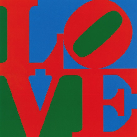 Robert Indiana, LOVE (1961), Courtesy of The Whitney Museum of American Art