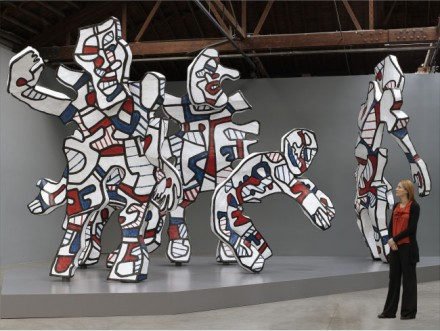 Jean Dubuffet, Welcome, Parade (2008), Courtest Pace Gallery