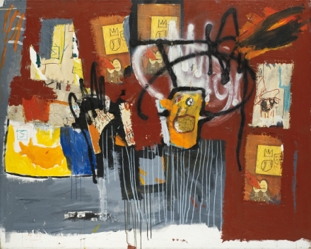 Jean-Michel Basquiat, Untitled, (1981), via Phillips
