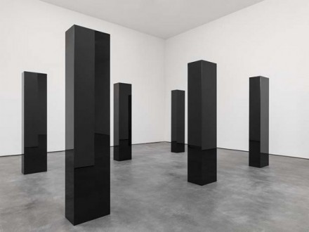 John McCracken, Six Columns (2006), via David Zwirner