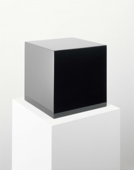 John McCracken, Untitled (Black Box) (1971), via David Zwirner