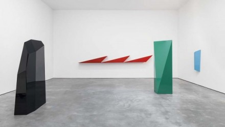 John McCracken, Works from 1963-2011 (Installation View), via David Zwirner