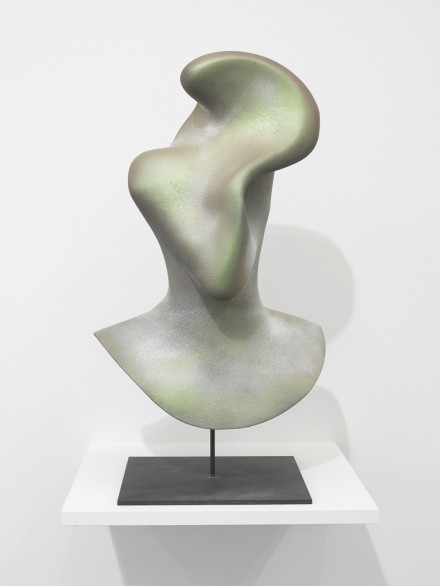 Jon Rafman, New Age Demanded (Pushed and Pulled Green to Bronze), (2013), via Zach Feuer