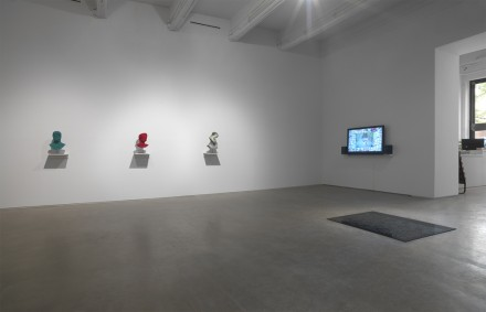 Jon Rafman, You are standing in an open field (Installation View), via Zach Feuer