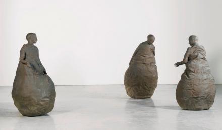 Juan Muñoz, Conversation Piece V1/1 (2001), via Sotheby's