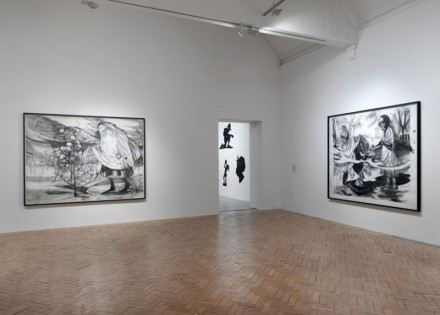 Kara Walker, Negress (Installation View),Ccourtesy Camden Arts Center