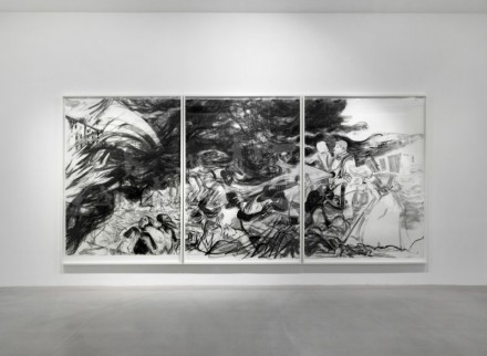 Kara Walker, Negress (Installation View), Courtesy Camden Arts Center
