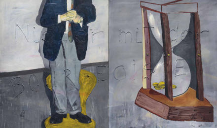 Martin Kippenberger, Down with the Bourgeoisie (1983), via Christie's