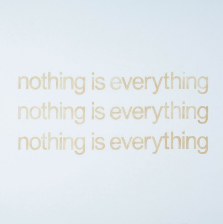 Mike Bouchet, Nothing is Everything 3 Times (Positive) (2013), via the Marlborough Chelsea