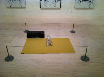 Mike Kelley, Dialogue #5 (One Hand Clapping) (1991), via Daniel Creahan for Art Observed