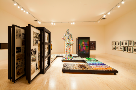 Mike Kelley (Installation View), Courtesy of MoMA Photo: Matthew Septimus