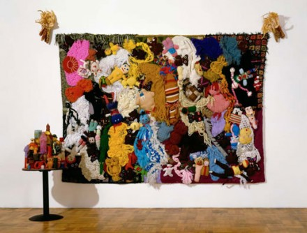Mike Kelley More Love Hours Than Can Ever Be Repaid and The Wages of Sin (1987), Courtesy of MoMA Photo Matthew Septimus