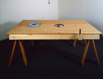 Mike Kelley, Torture Table (1992), via Skarstedt Gallery