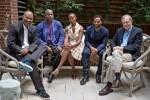 Nelson George, Steve McQueen, Kara Walker, Chiwetel Ejiofor, and Eric Foner, via NYT