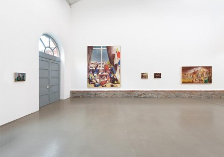 Neo Rauch, Gespenster (Installation View), Courtesy Galerie Eigen+ART