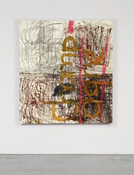 Oscar Murillo, Champagne (2011), via Sothebys