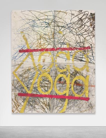 Oscar Murillo, Untitled (2012), via Phillips