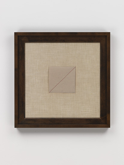 Paulo Roberto Leal, Entretela (1974). Sensitive Geometries, Hauser & Wirth