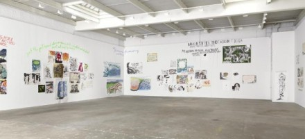 Raymond Pettibon, To Wit (Installation View), via David Zwirner