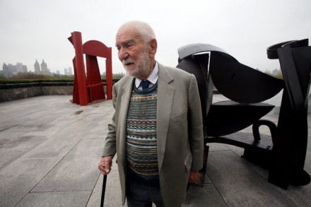 Sir Anthony Caro, via New York Times
