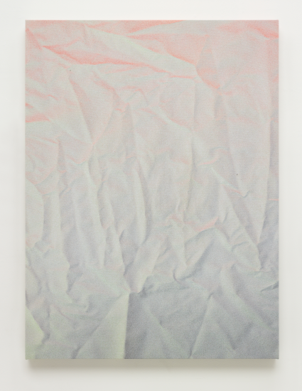 Tauba Auerbach, Untitled (Fold) (2011), via Phillips
