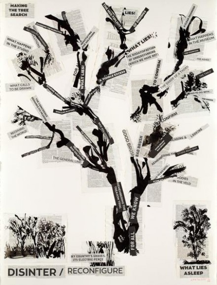 William Kentridge, Making the Tree Search (2013), via Marian Goodman